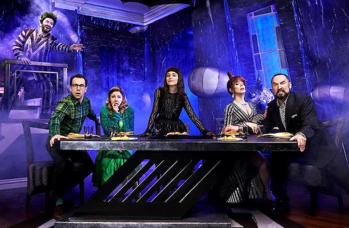 Beetlejuice The Musical on Broadway cast