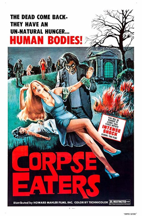 CORPSE EATERS Poster