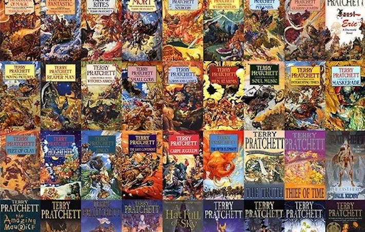 Discworld series by Terry Pratchett is a daunting literary legacy