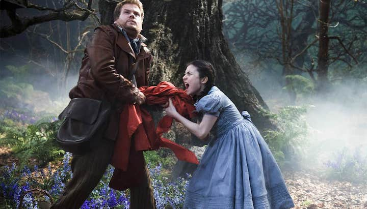 INTO THE WOODS (2014) James Corden and Lilla Crawford