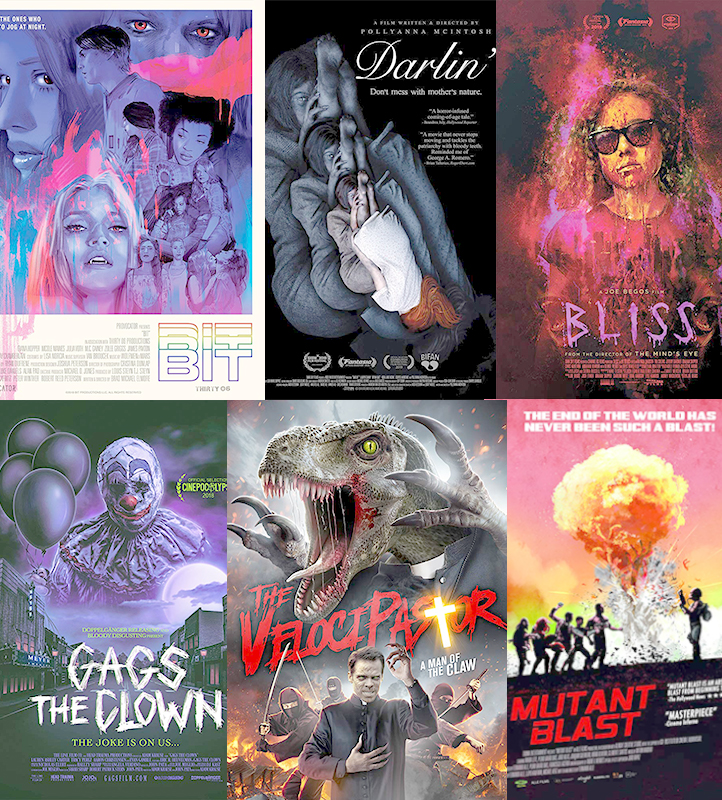 Jeremy Lowe's Honorable Mentions of 2019: Bit, Darlin', Bliss, Gags The Clown, The Velocipastor, Mutant Blast