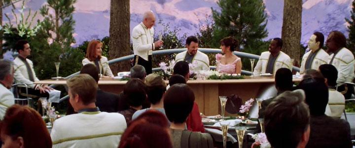 STAR TREK NEMESIS (2002) Four Weddings and a Ferengi