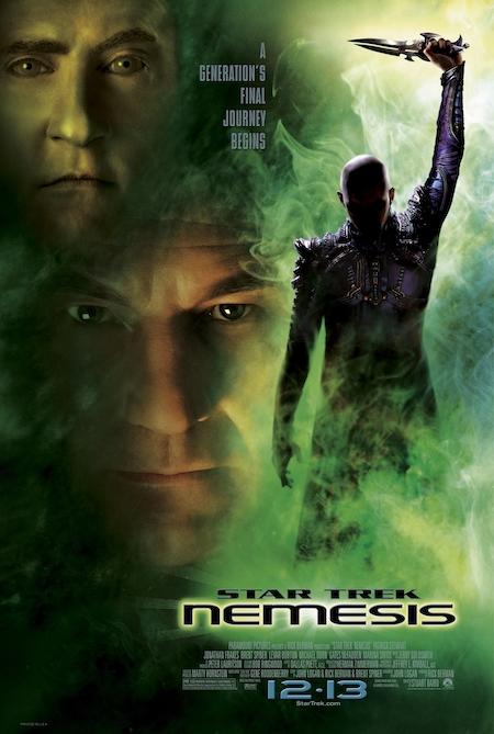 STAR TREK NEMESIS (2002) movie poster