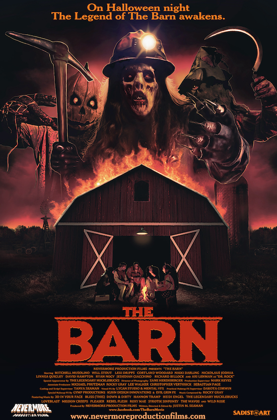 THE BARN (2016) movie poster