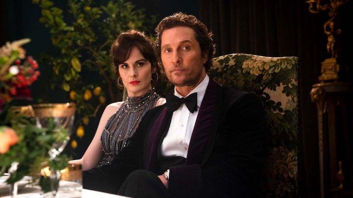 THE GENTLEMEN (2020) Michelle Dockery Matthew McConaughey