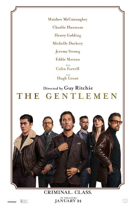 THE GENTLEMEN (2020) Movie poster