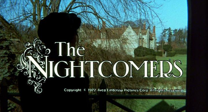 THE NIGHTCOMERS (1971) title screen