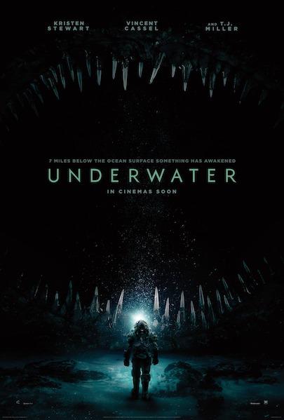 UNDERWATER (2020) movie poster