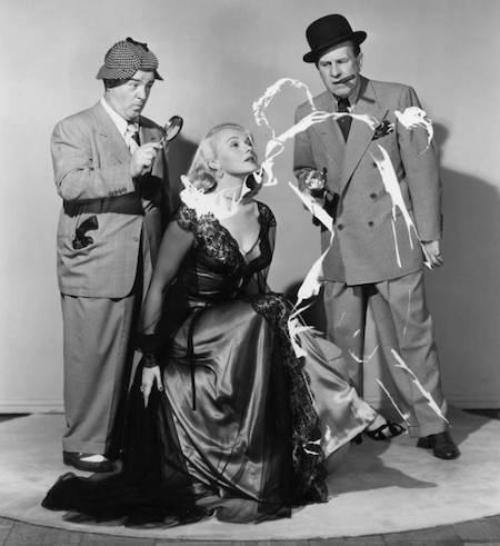 ABBOT AND COSTELLO MEET THE INVISIBLE MAN (1951) insert your own va-va-voom and ahooga sound effects