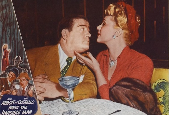 ABBOTT AND COSTELLO MEET THE INVISIBLE MAN (1951) The siren song of a three martini lunch