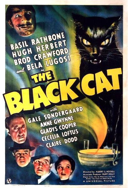 Universal Horror: THE BLACK CAT poster