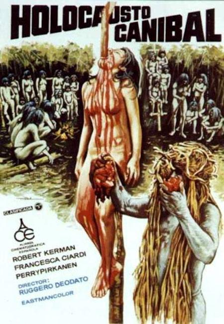 CANNIBAL HOLOCAUST (1980) movie poster