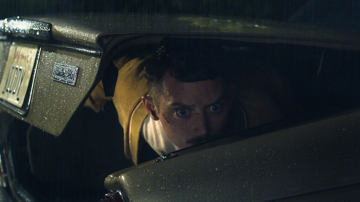 COME TO DADDY Elijah Wood trunk driving