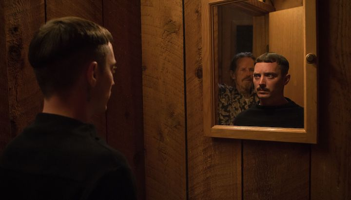 COME TO DADDY Stephen McHattie and Elijah Wood in the weirdest adaptation of a Cat Stevens' song