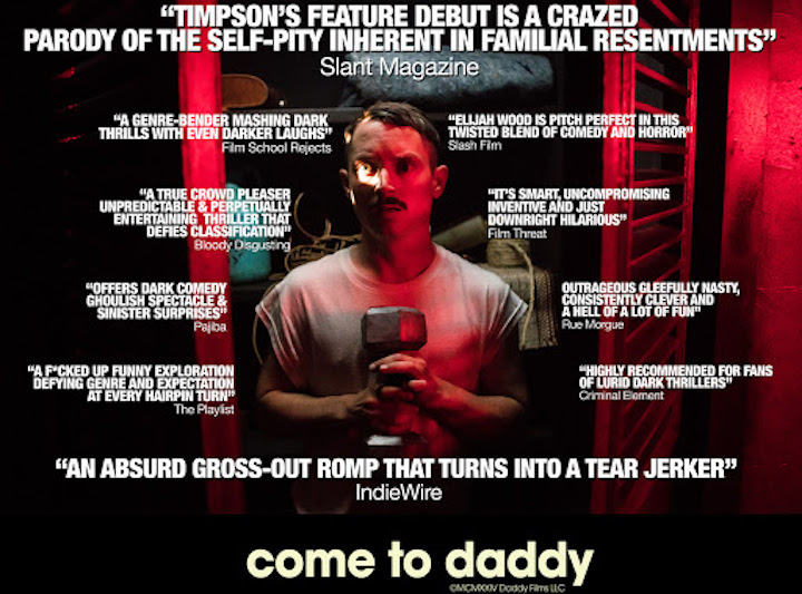 COME TO DADDY movie poster