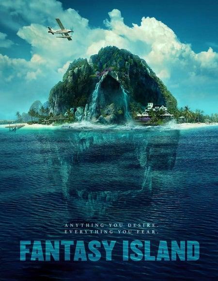 FANTASY ISLAND (2020) movie poster