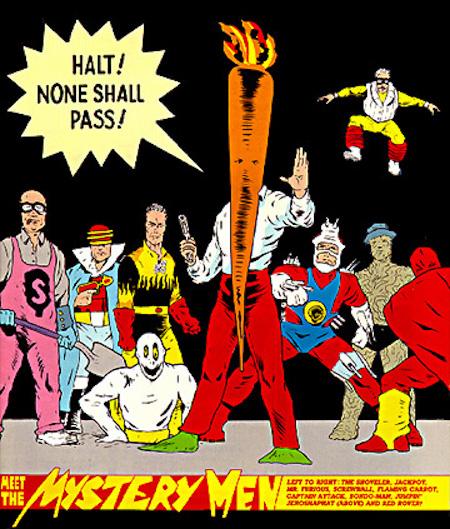 Flaming Carrot Comics Mystery Men
