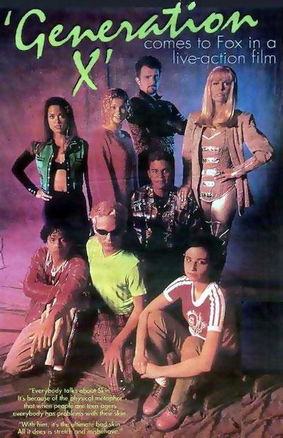 GENERATION X (1996) cast
