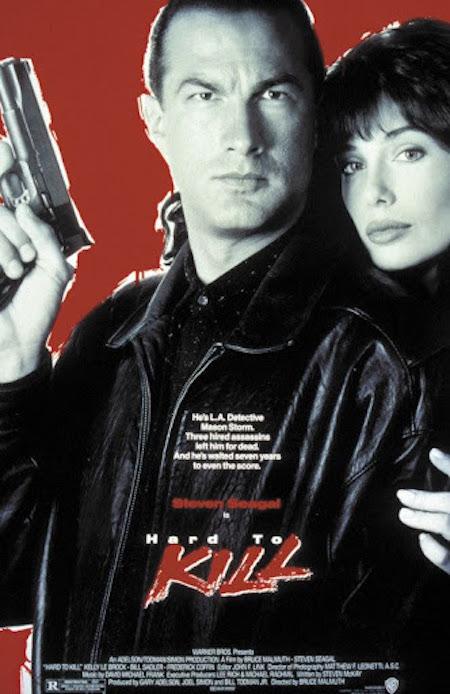 HARD TO KILL (1990) movie poster