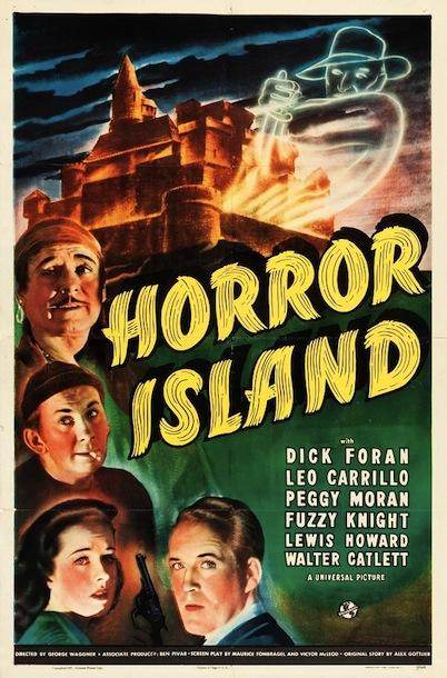 Universal Horror: HORROR ISLAND poster