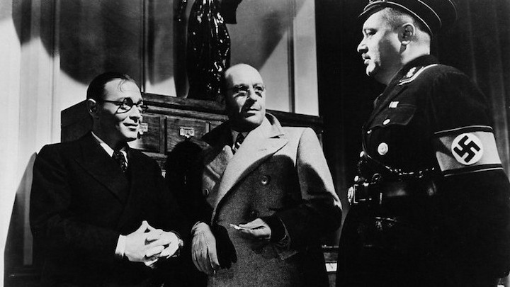 INVISIBLE AGENT (1942) one more time - these are the BAD guys