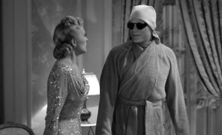INVISIBLE AGENT (1942) serving up spa day realness