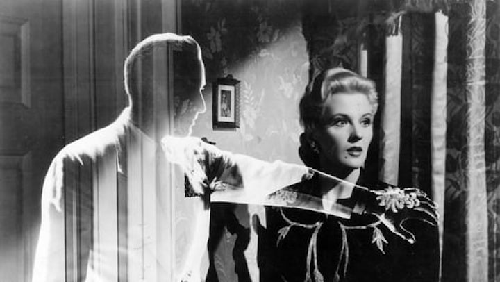 INVISIBLE AGENT (1942) stopping short with ladies