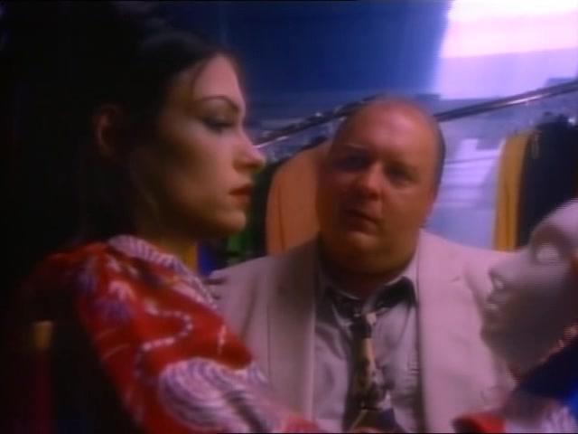 MODEL BY DAY (1993) Famke Janssen auditions for VANILLA SKY