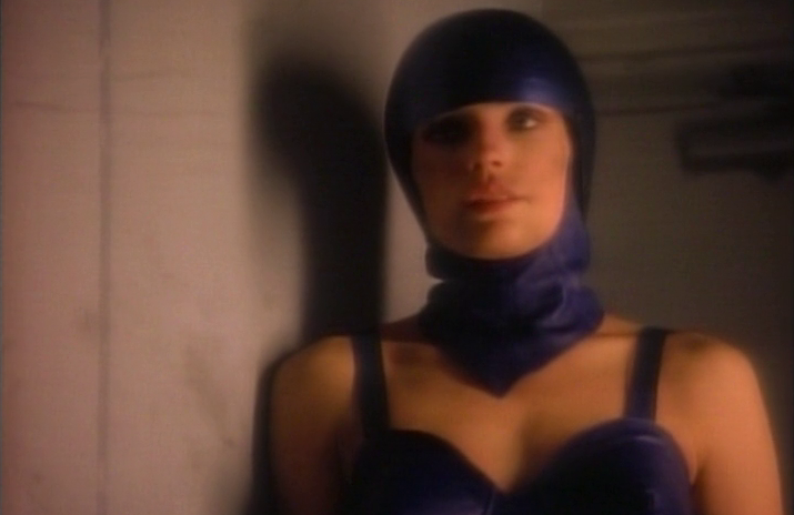 MODEL BY DAY (1993) Famke Janssen in a tiny film that is still better than X-MEN: THE LAST STAND