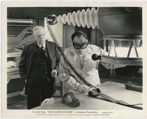 Universal Horror: MAN MADE MONSTER - Lionel Atwill, Samuel Hinds