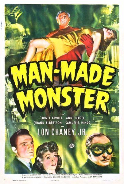 Universal Horror: MAN MADE MONSTER poster