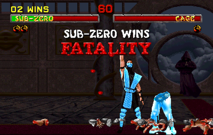 Mortal Kombat 2 was the pinnacle of the series...and humanity