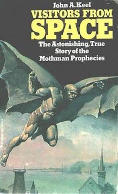 Mothman Prophecies book by John Keel