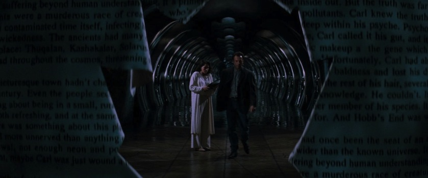 IN THE MOUTH OF MADNESS - Julie Carmen, Sam Neill