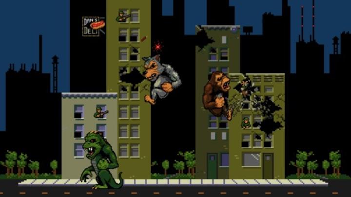 Rampage arcade game