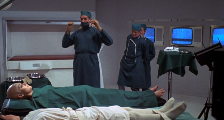 SCREAM AND SCREAM AGAIN (1970) Has Vincent Price ever played a doctor who is on the level?