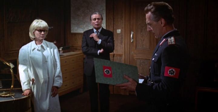 SCREAM AND SCREAM AGAIN (1970) Peter Cushing and the weird fascist symbols