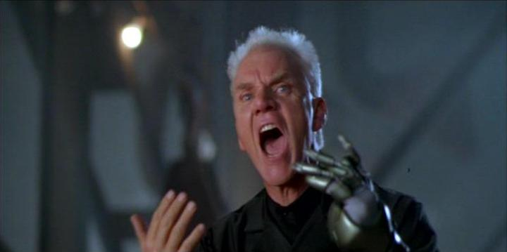 TANK GIRL (1995) Malcolm McDowell
