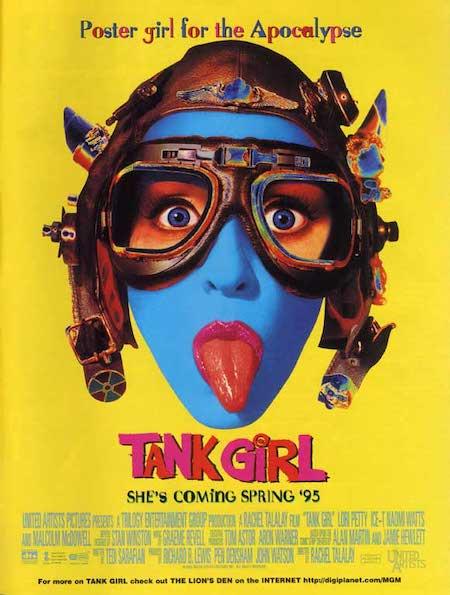 TANK GIRL (1995) movie poster