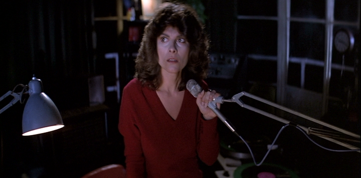 THE FOG (1980) Adrienne Barbeau as a radio DJ who must deal with supernatural fog and disco at its most popular