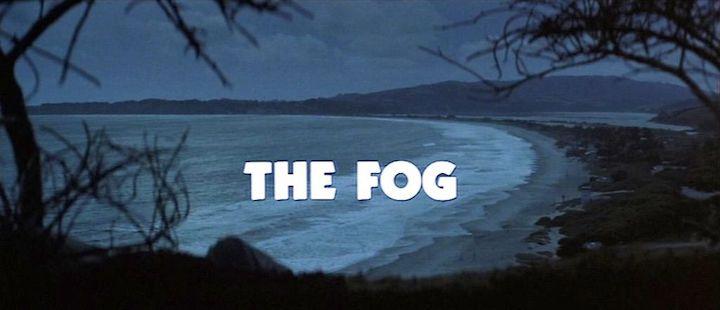 THE FOG (1980) title screen