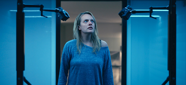 THE INVISIBLE MAN (2020) Elizabeth Moss strays into a very weird man cave