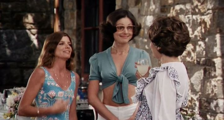 THE STEPFORD WIVES (1975) lovely party