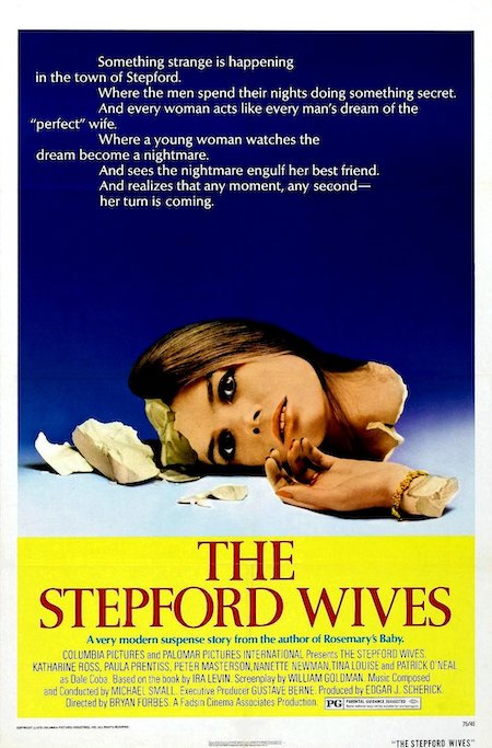 THE STEPFORD WIVES (1975) movie poster
