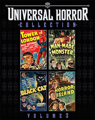 Universal Horror Collection Volume 3 from Scream Factory