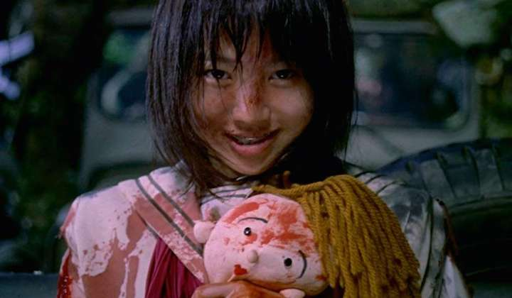 BATTLE ROYALE (2000) smile of a child