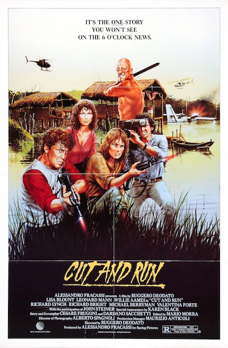 CUT AND RUN Poster