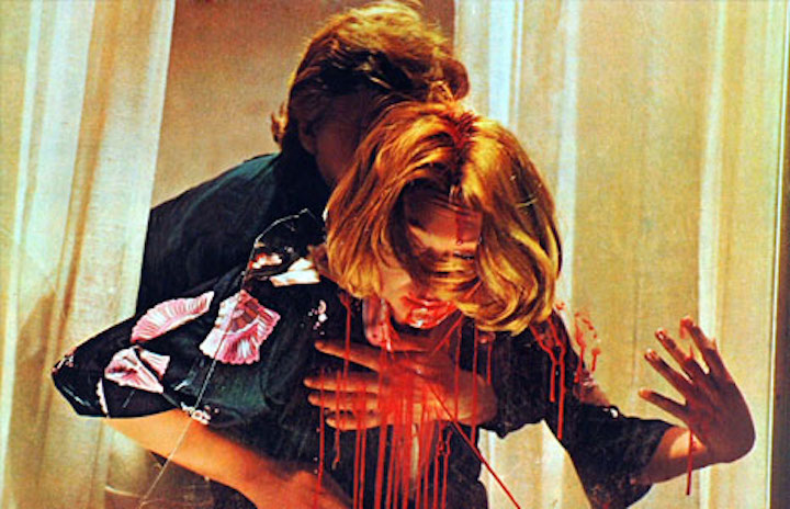 DEEP RED (1975) i don't think the Heimlich Maneuver applies here, David