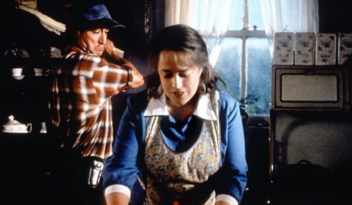 DOLORES CLAIBORNE (1995) David Strathairn and Kathy Bates