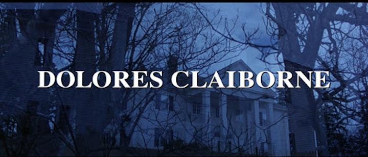 DOLORES CLAIBORNE (1995) title screen